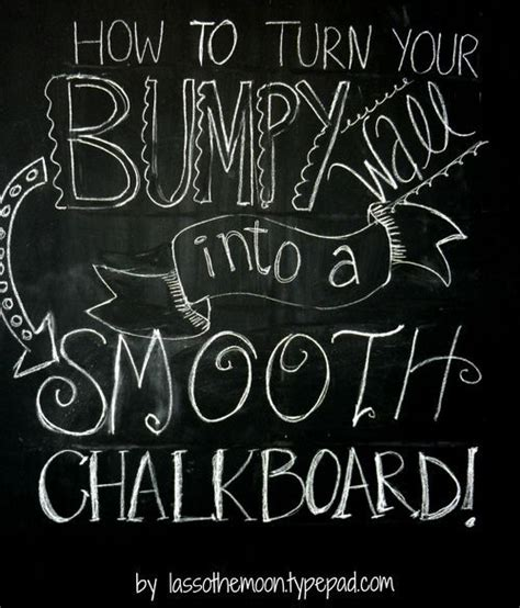 chalkboard paint and textured walls chalkboard wall how to by lasso the moon home
