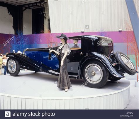 vintage bugatti bugatti royale type 41 1930 vintage car stock photo