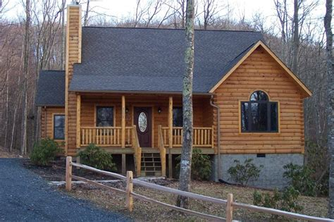 icf cabin grandfather mountain log homes