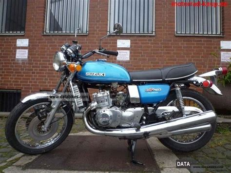 Suzuki Water 1974 Suzuki 750 Gt Beautiful Water Buffalo