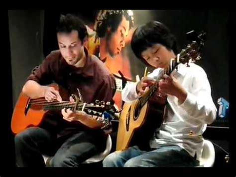 cara bermain gitar sungha jung budak 16thn main gitar kalahkan man kidal sungha jung