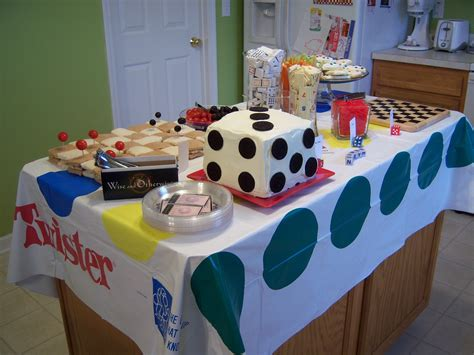 Themed Party Night Ideas | cook create consume game night party