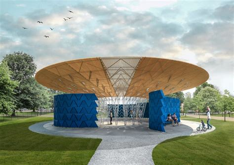 pavillon pavillion serpentine pavilion 2017 designed by francis k 233 r 233