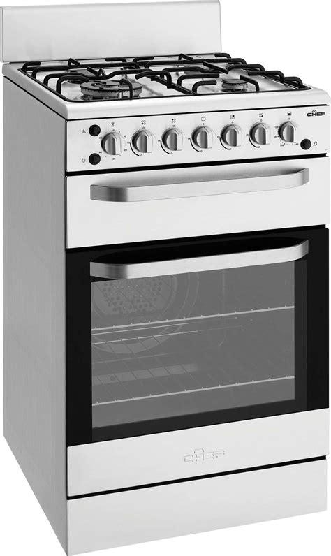 Oven Gas Lpg new chef 54cm lpg gas freestanding oven stove cfg517salp ebay