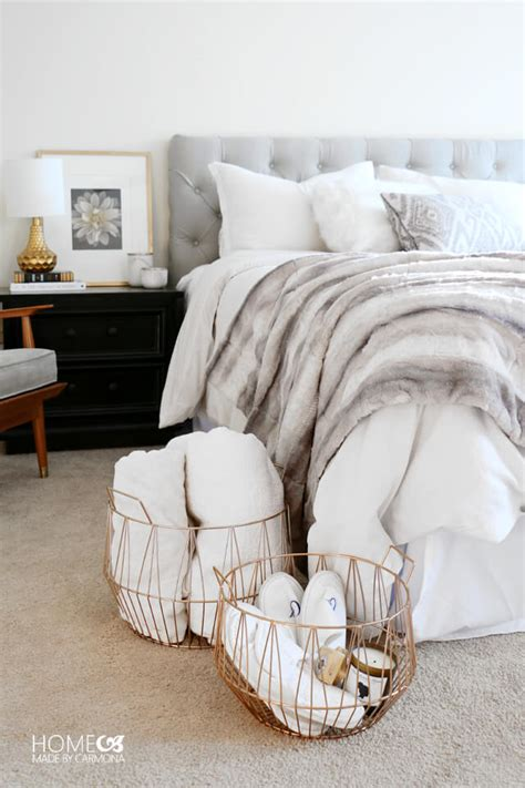 cozy bed 9 ways to make your home extra cozy hygge style