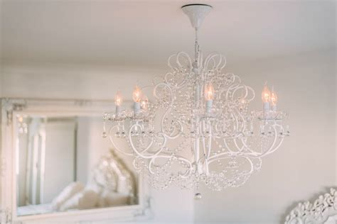 belgian style large white  branch chandelier furniture