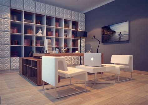 office interior design from a house project