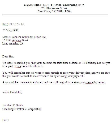 Inquiry Letter Ayunitablog