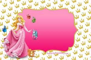 etiquetas tarjetas de princesas disney rapunzel bella y aurora princesas disney