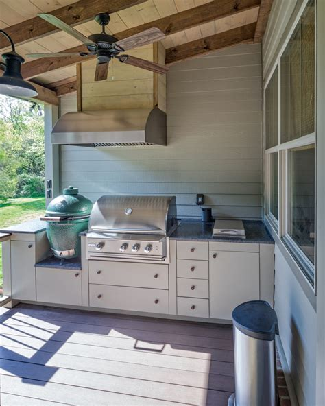 Rethinking The Outdoor Kitchen Concept The Porch House Plans With Porch And Big Kitchen