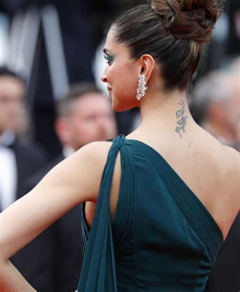 deepika padukone removes tattoo did deepika padukone get ranbir kapoor removed