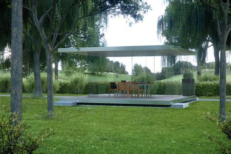 pavillon 3 x 3 rundum transparent glas pavillon 360