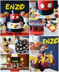 mickey mouse 1st birthday with so many awesome ideas