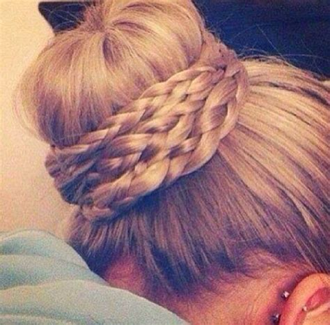 bun with braid around it how to 301 moved permanently