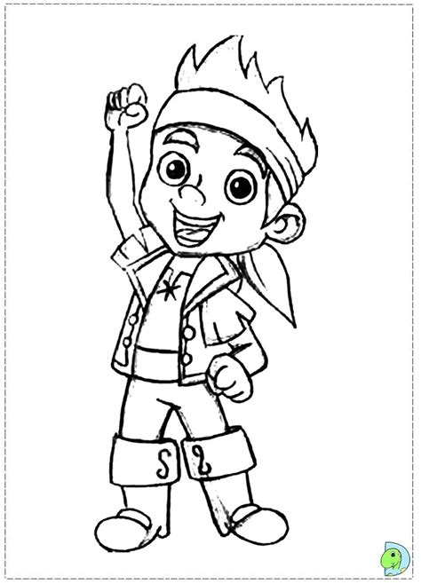 Free Jake And The Neverland Pirates Printables Az Jake Neverland Coloring Pages
