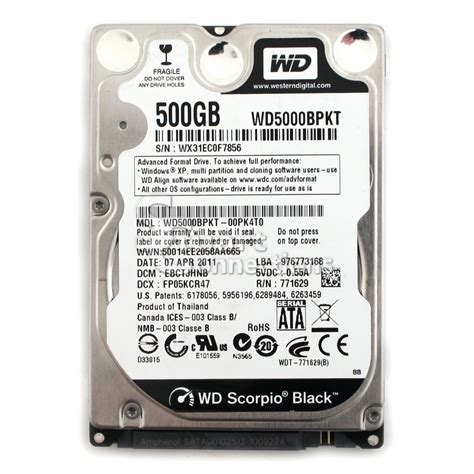 Hardisk Laptop Wd Scorpio Blue 500gb diagnostic western digital drive diagnostics