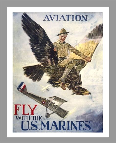 """MILITARY POSTER SERIES - (FLY)MARINE 8.5"""" x 11"""" POSTER ... K 11 Poster"""