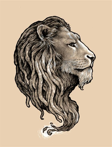 rastah lion by cantervania on deviantart