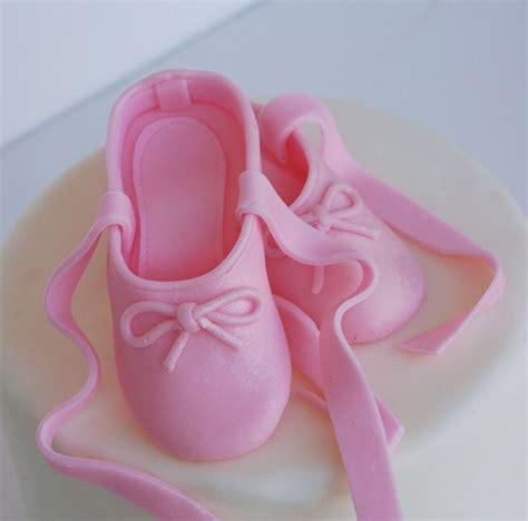 fondant ballerina slippers fondant cake topper fondant ballet slippers and