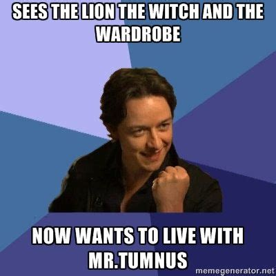 james mcavoy lion witch success james mcavoy sees the lion the witch and the
