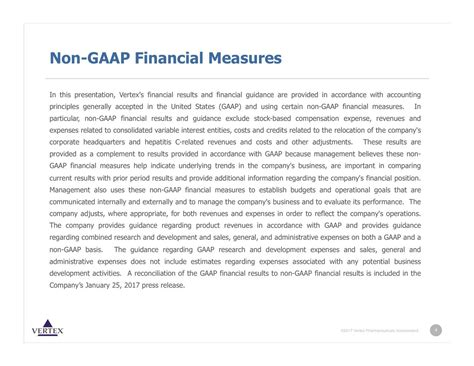 accounting trends and techniques u s gaap financial statements best practices in presentation and disclosure aicpa books vertex pharmaceuticals incorporated 2016 q4 results