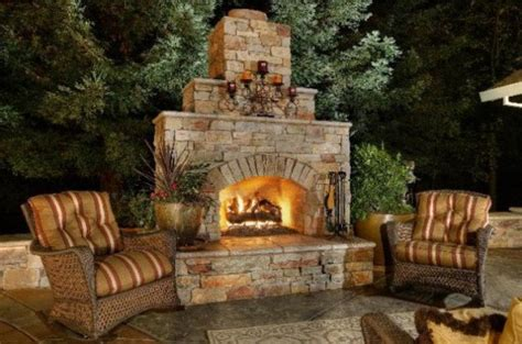 backyard fireplace ideas outdoor fireplace designs and diy ideas how to instructions