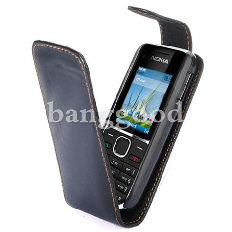 Casing Nokia C2 C2 1 black flip leather cover pouch fr nokia c2 01 c201 us 2 86 sold out