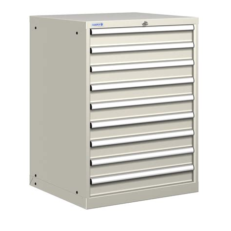 heavy duty storage cabinets with drawers polstore heavy duty steel tool storage cabinet 9 drawer ebay