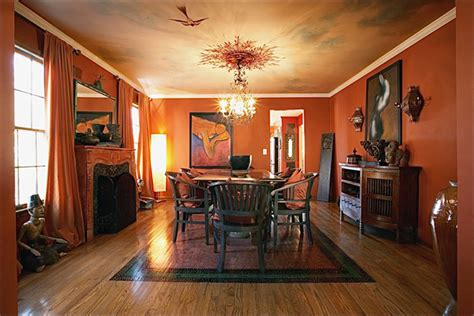 Terracotta Dining Room by Gallery We2me 174 Divorce Decor 174