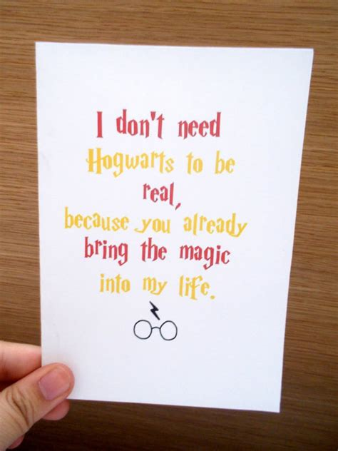 Wedding Wishes Harry Potter by Items Similar To Harry Potter Greeting Card Magic Birthday