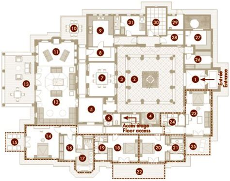 moroccan riad floor plan 25 best morocco images on pinterest floor plans house