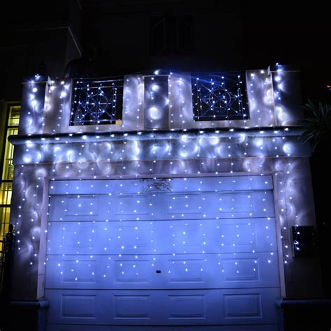 led christmas curtain lights 3mx3m 6mx3m 300 600led outdoor christmas xmas string fairy