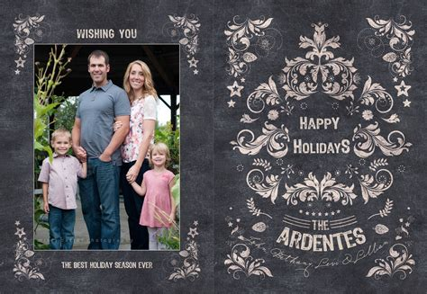 Family Portrait Card Template by Cards Made Easy Modern Senior And Family