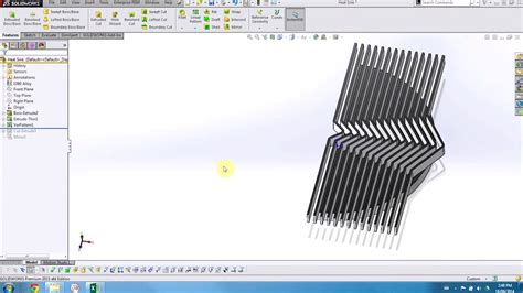 pattern sketch solid edge solidworks what s new 2015 variable pattern youtube