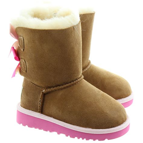 pink ugg boots with bows ugg bailey bow boots in chestnut pink in chpk
