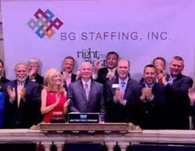 Bg Staffing Bg Staffing Bgsf Analysts May Need To Increase