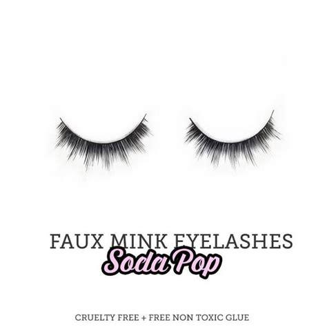 Statement False Eyelash faux mink false eyelashes butter cup sugar venom eco