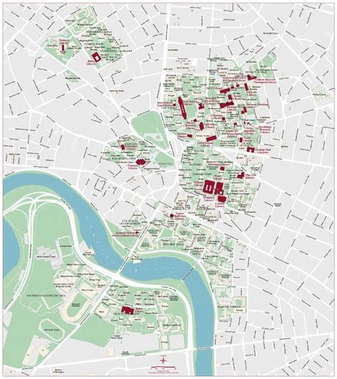 harvard map harvard cus map harvard