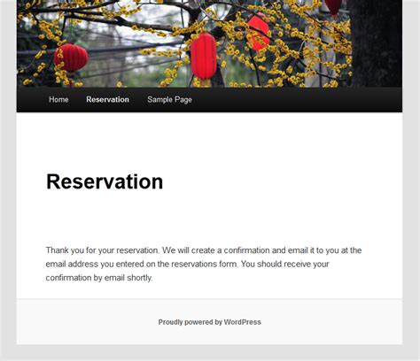 Confirmation Letter Restaurant Booking 14 Best Restaurant Plugins Best Plugin