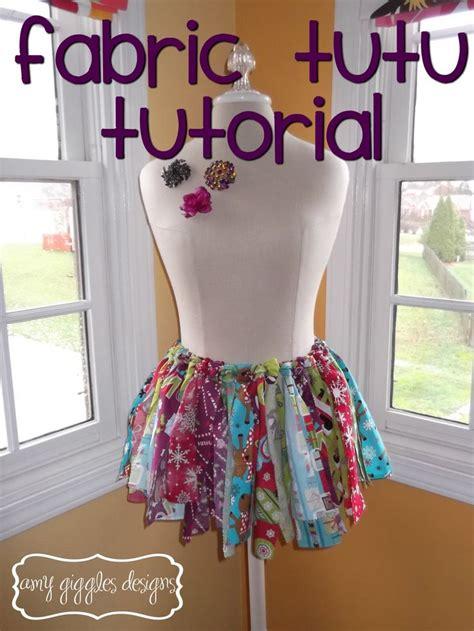 tutu pattern pinterest fabric strip tutu tutorial sew your own pinterest
