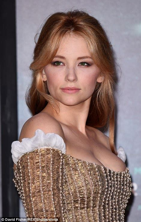 haley bennett husband emily blunt glows in heavily embellished floral gown at