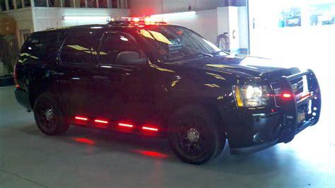 running board emergency lights tahoe emergency light installation by quot seen and heard