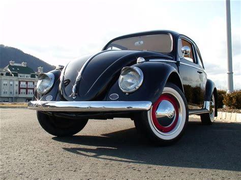 vintage volkswagen sedan classic 1959 vw beetle bug black sedan classic vw