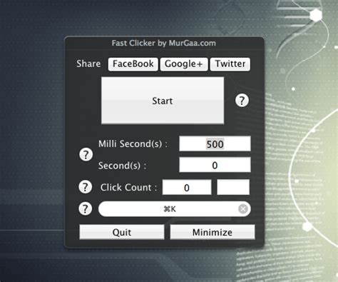 Auto Clicker Mac by Autoclicker Para Mac Cliques Autom 225 Ticos No Mac Os