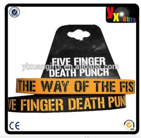 five finger death punch name origin five finger death punch quot 2 wristbands pack quot black orange