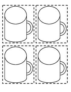 1000 Images About Pre K On Pinterest Cut And Paste Fire Safety And Worksheets Chocolate Cup Template