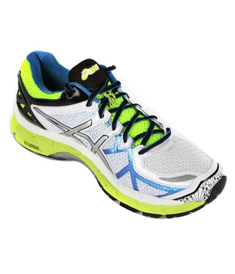 sport shoes asics asics white performance sport shoes gel kayano 21