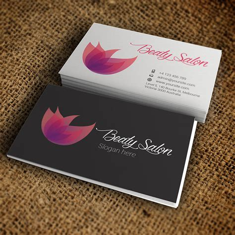salon free business card template salon business card premium business card