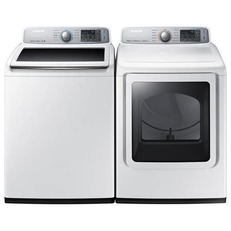 dvg50m7450w samsung appliances 7 4 cu ft gas dryer with steam neat white airport home