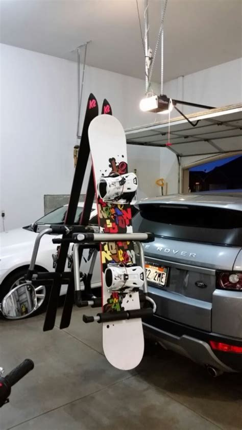 1000 images about ski and bike storage on pinterest ski thule tram ski and snowboard carrier adapter for hitch
